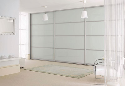 Glass Bedroom Wardrobe Doors