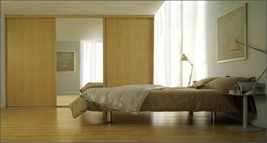 Sliding Wooden Wardrobe Doors